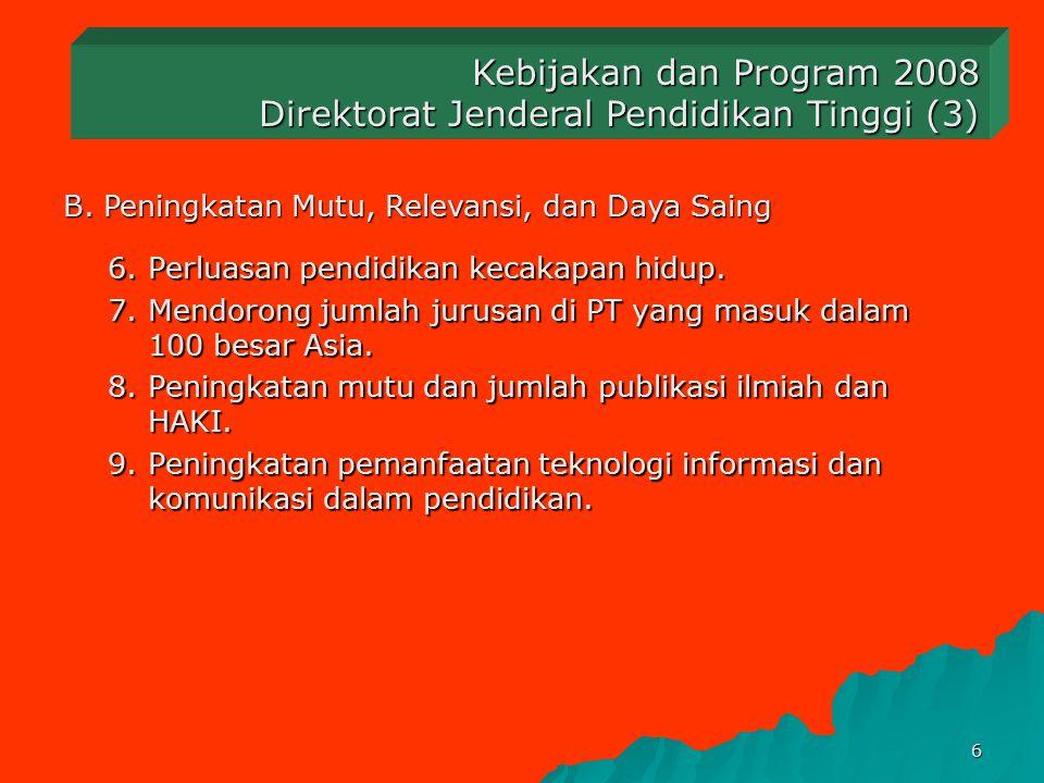 Direktorat Jenderal Pendidikan Tinggi (3)