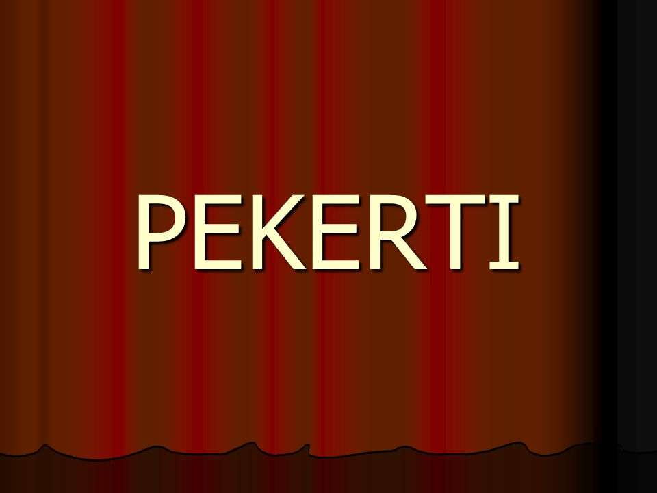 PEKERTI