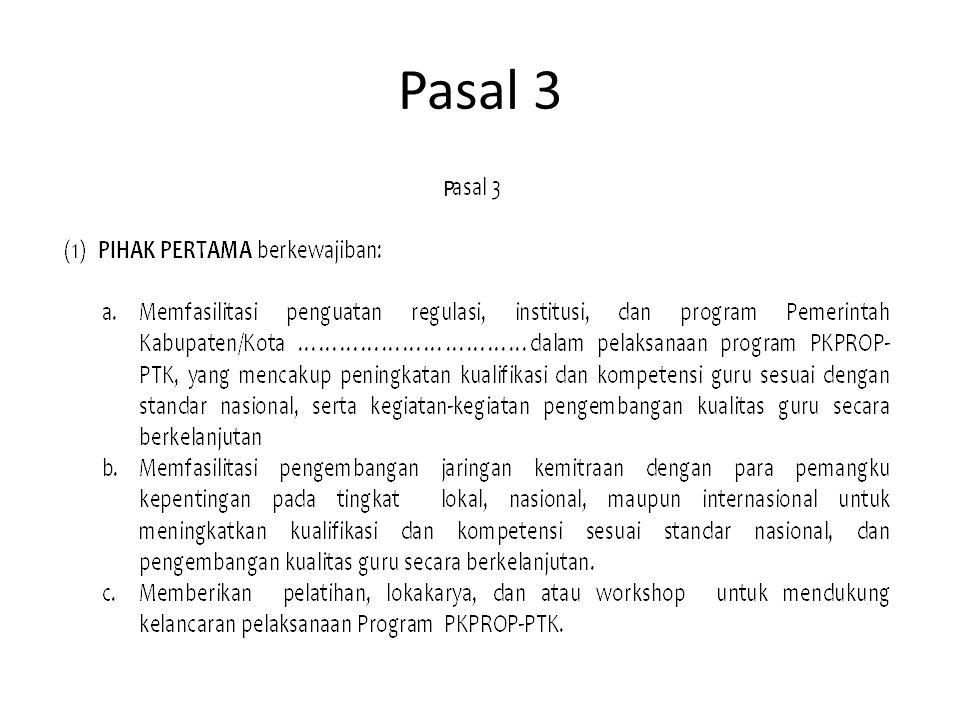 Pasal 3 P
