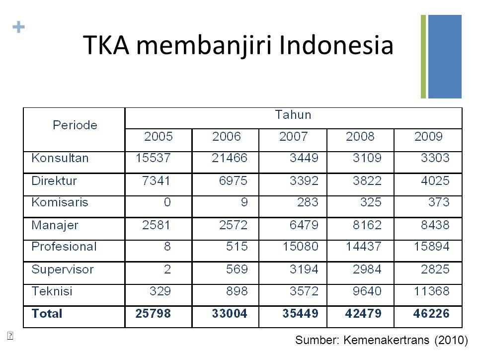 TKA membanjiri Indonesia