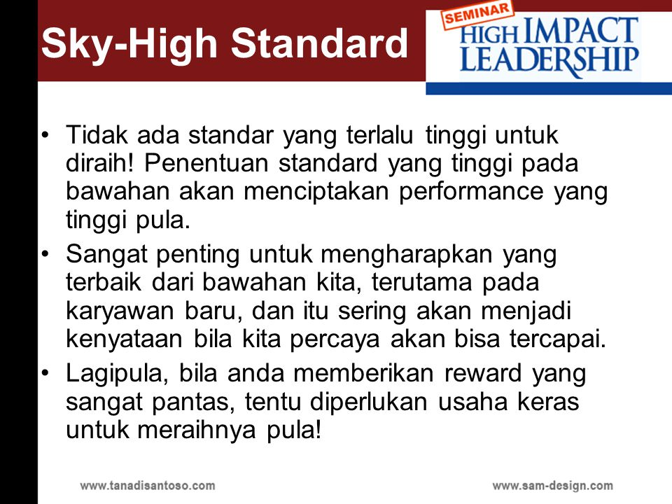 Sky-High Standard