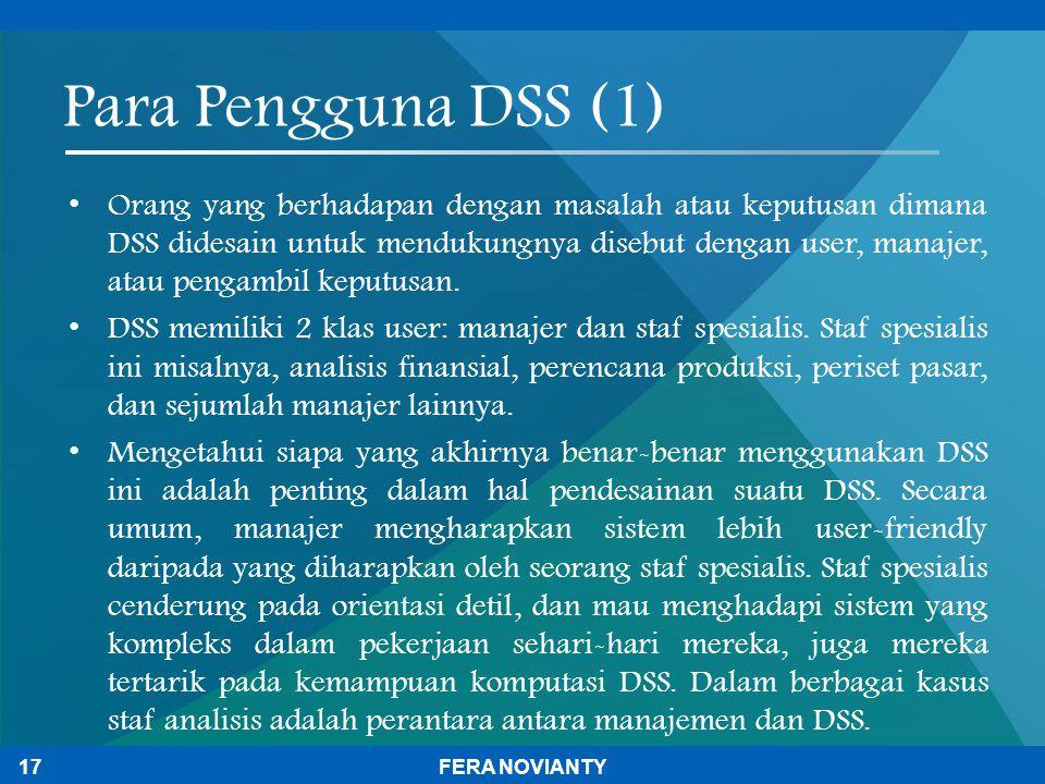 Para Pengguna DSS (1)