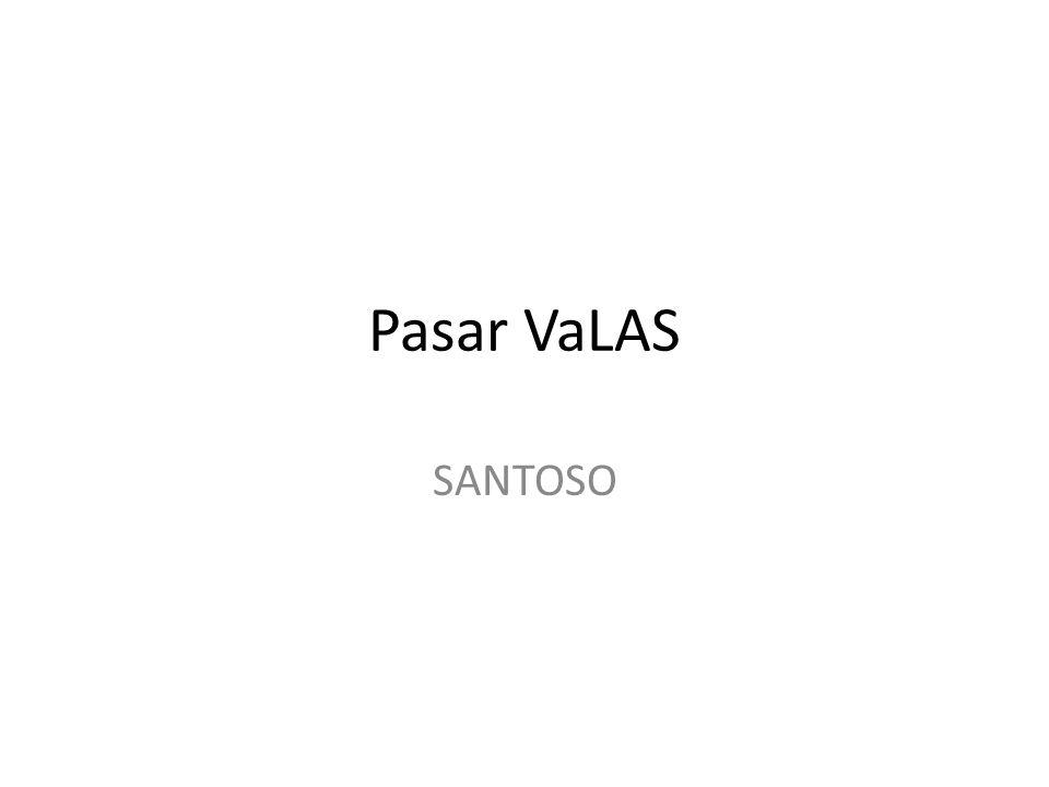 Pasar VaLAS SANTOSO