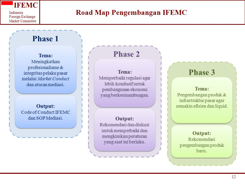 Road Map Pengembangan IFEMC