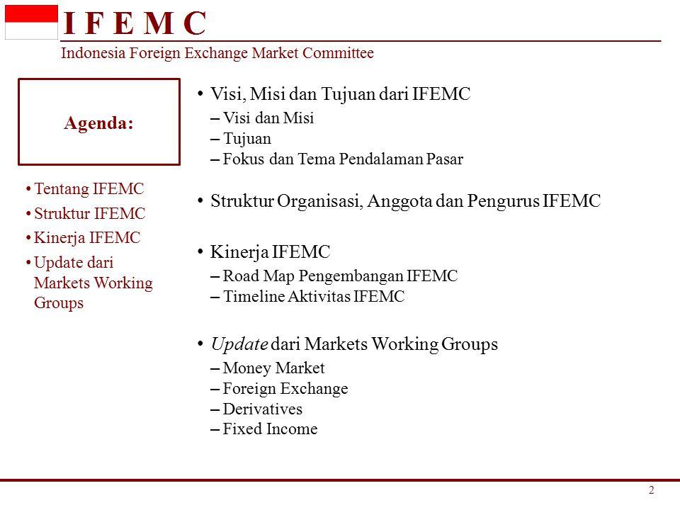 Visi, Misi dan Tujuan dari IFEMC