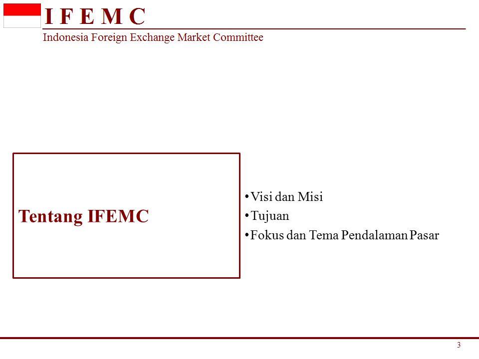 Tentang IFEMC Visi dan Misi Tujuan Fokus dan Tema Pendalaman Pasar