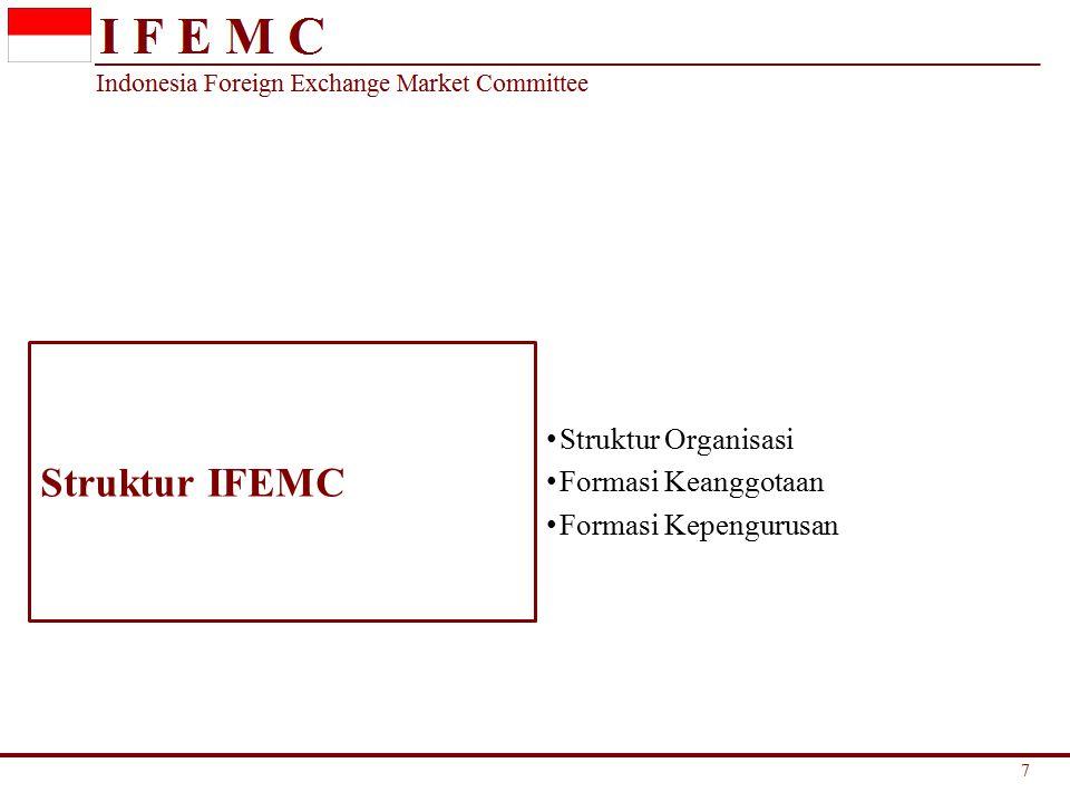 Struktur IFEMC Struktur Organisasi Formasi Keanggotaan