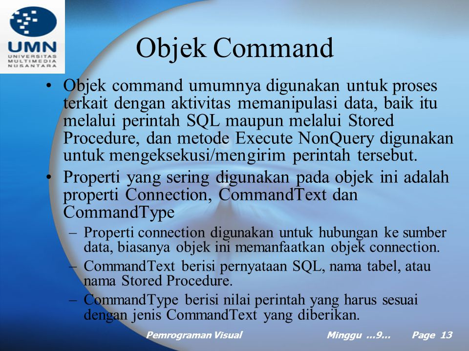 Objek Command