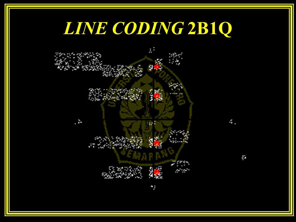 LINE CODING 2B1Q