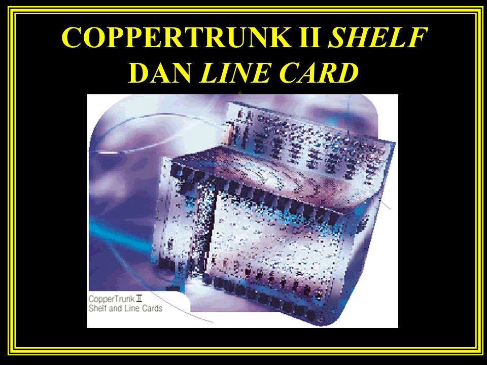 COPPERTRUNK II SHELF DAN LINE CARD