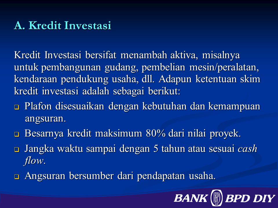A. Kredit Investasi