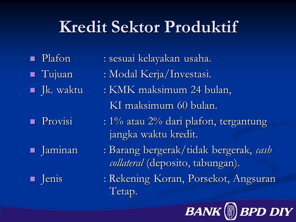 Kredit Sektor Produktif