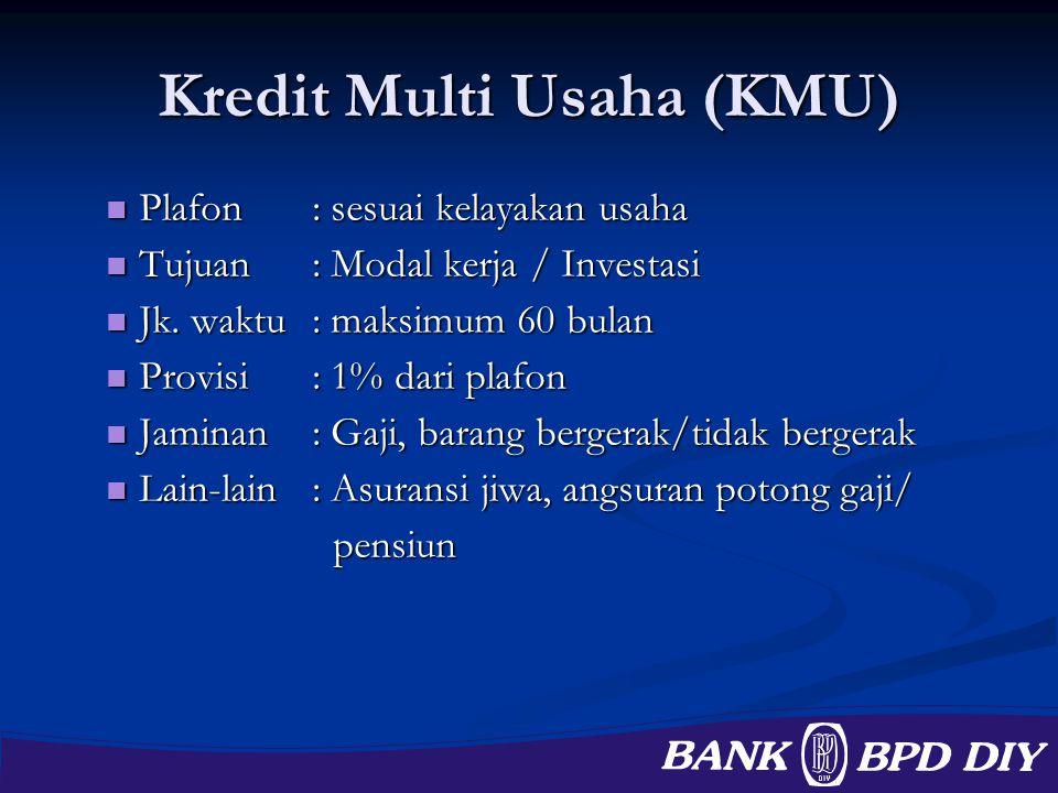 Kredit Multi Usaha (KMU)