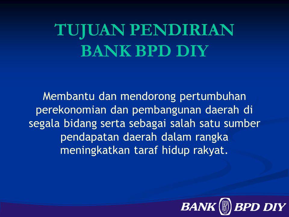TUJUAN PENDIRIAN BANK BPD DIY