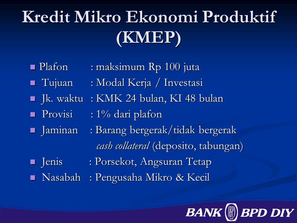 Kredit Mikro Ekonomi Produktif (KMEP)