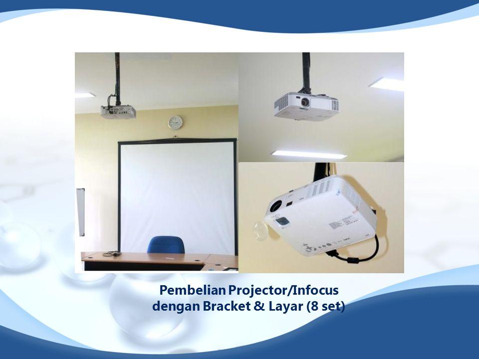 Pembelian Projector/Infocus dengan Bracket & Layar (8 set)