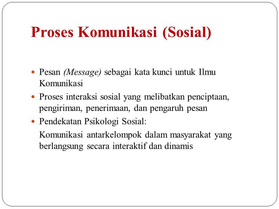 Proses Komunikasi (Sosial)