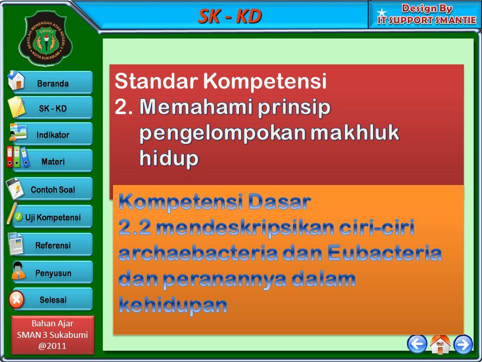 SK - KD Standar Kompetensi. 2. Memahami prinsip pengelompokan makhluk hidup. Kompetensi Dasar.