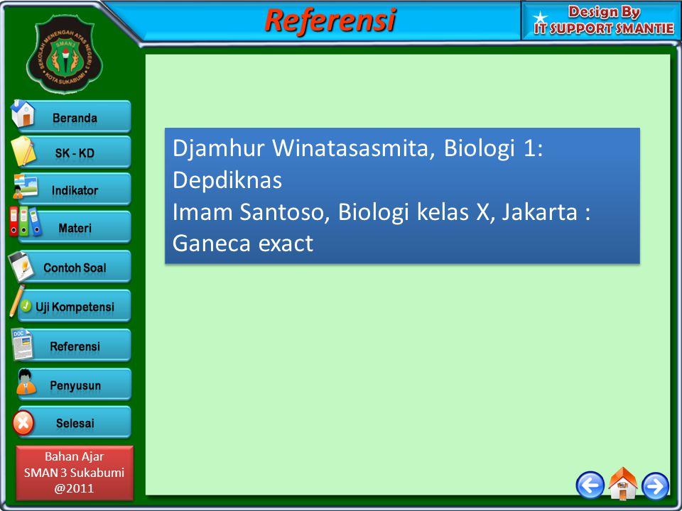 Referensi Djamhur Winatasasmita, Biologi 1: Depdiknas