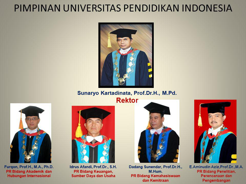 PIMPINAN UNIVERSITAS PENDIDIKAN INDONESIA