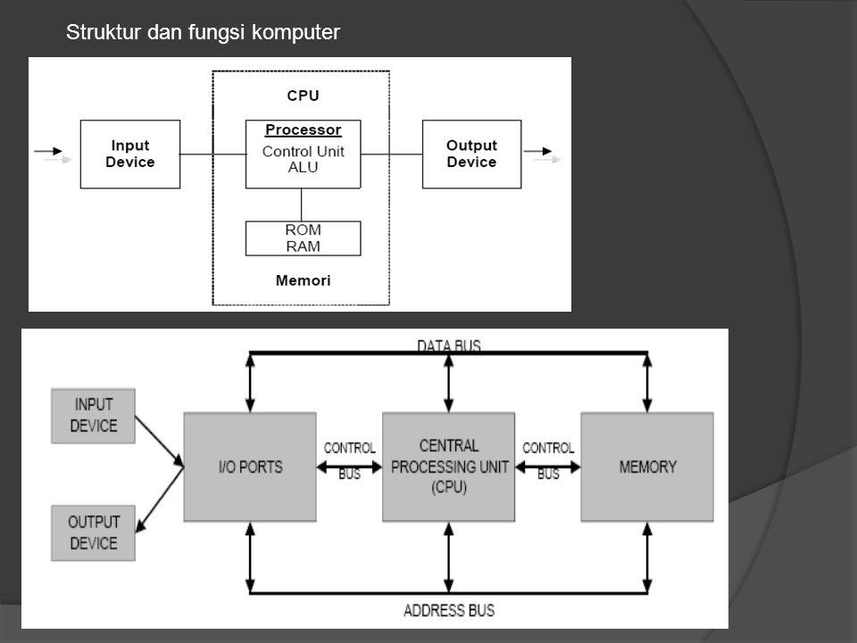 Struktur dan fungsi komputer