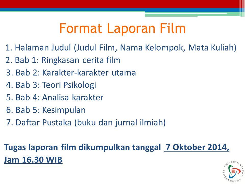 Format Laporan Film