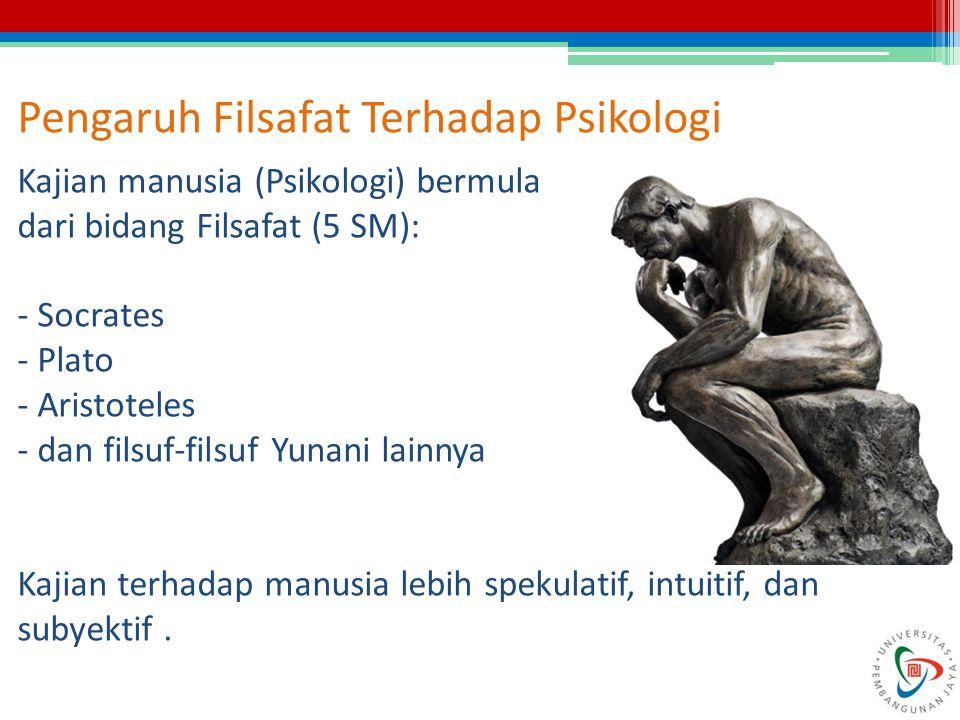 Pengaruh Filsafat Terhadap Psikologi