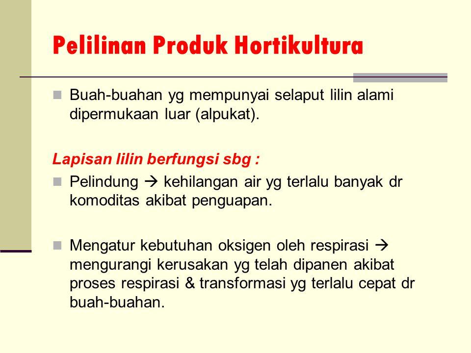 Pelilinan Produk Hortikultura