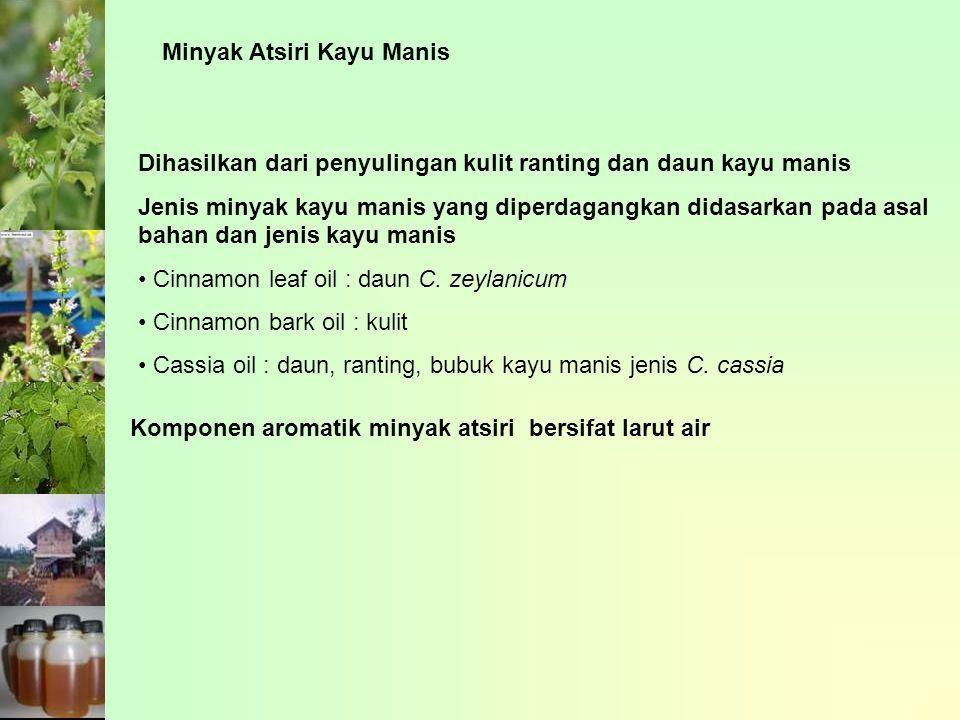 Minyak Atsiri Kayu Manis