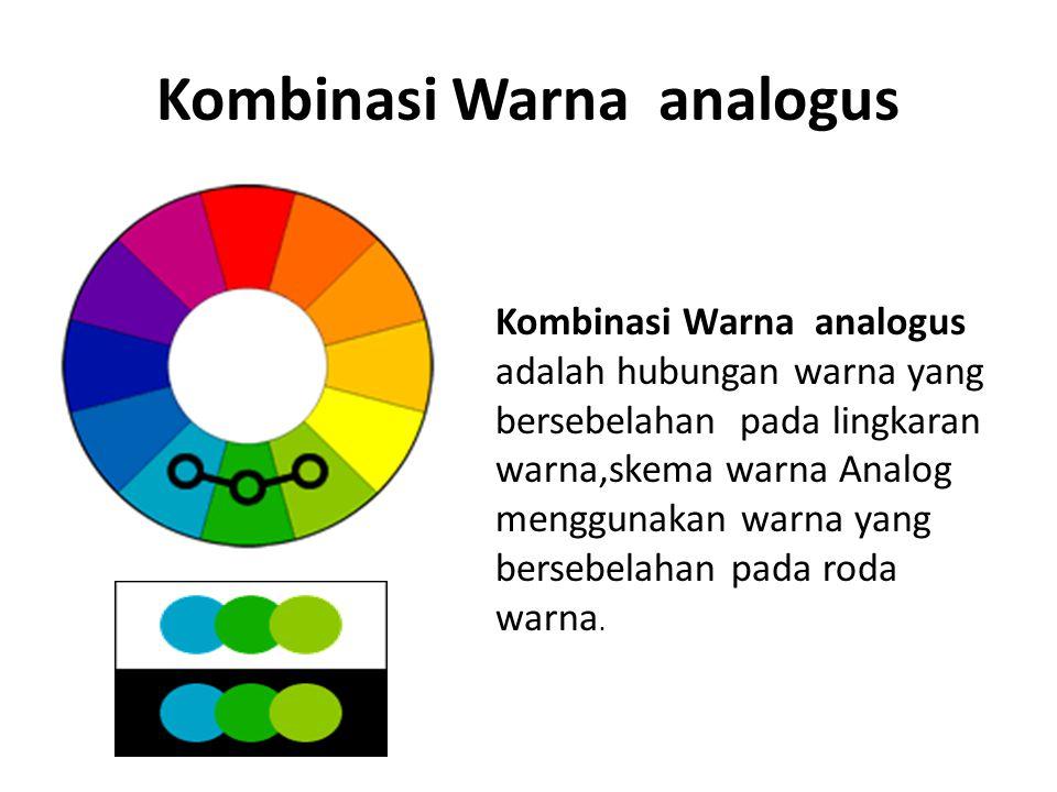 Kombinasi Warna analogus