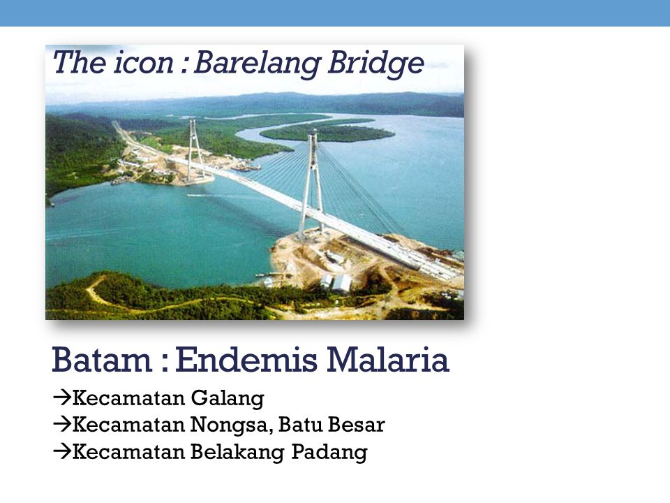 The icon : Barelang Bridge
