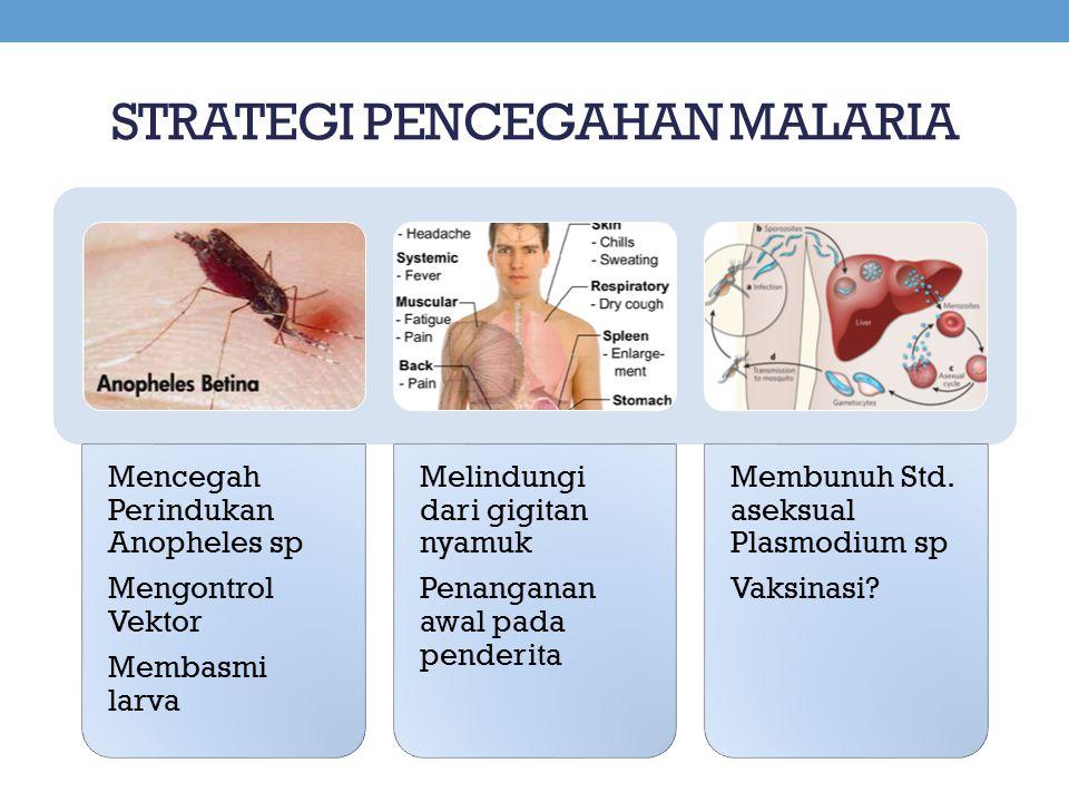 STRATEGI PENCEGAHAN MALARIA