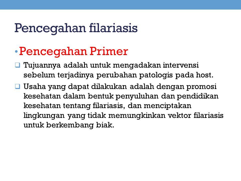 Pencegahan filariasis