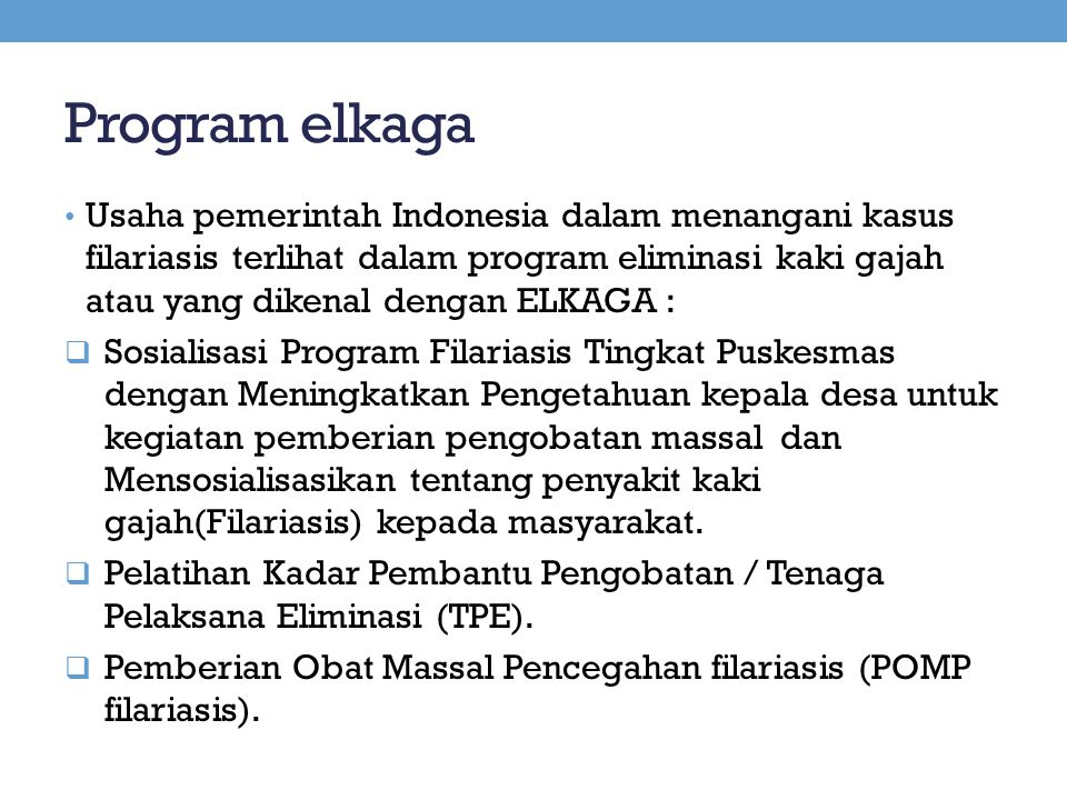 Program elkaga