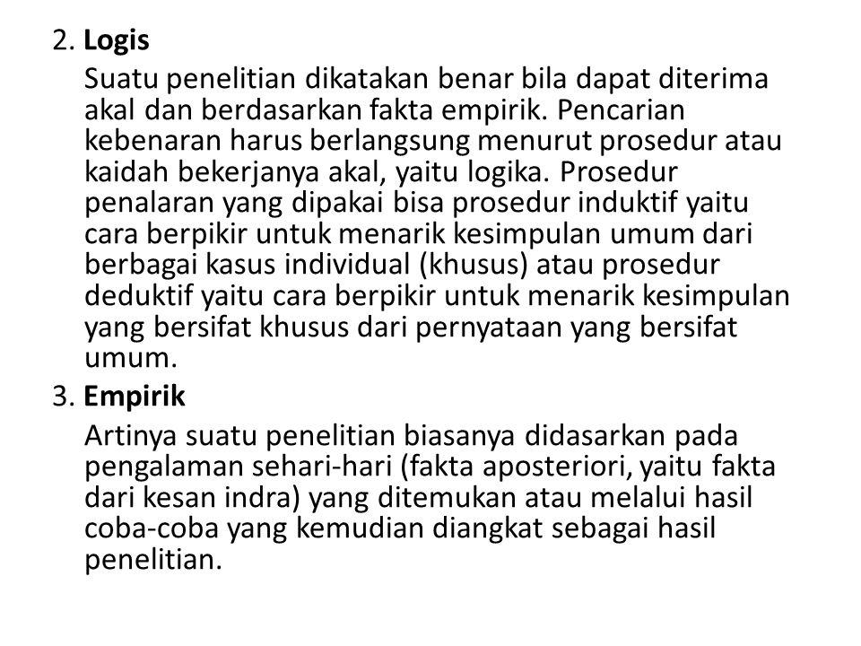 2. Logis