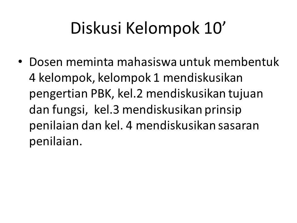Diskusi Kelompok 10'