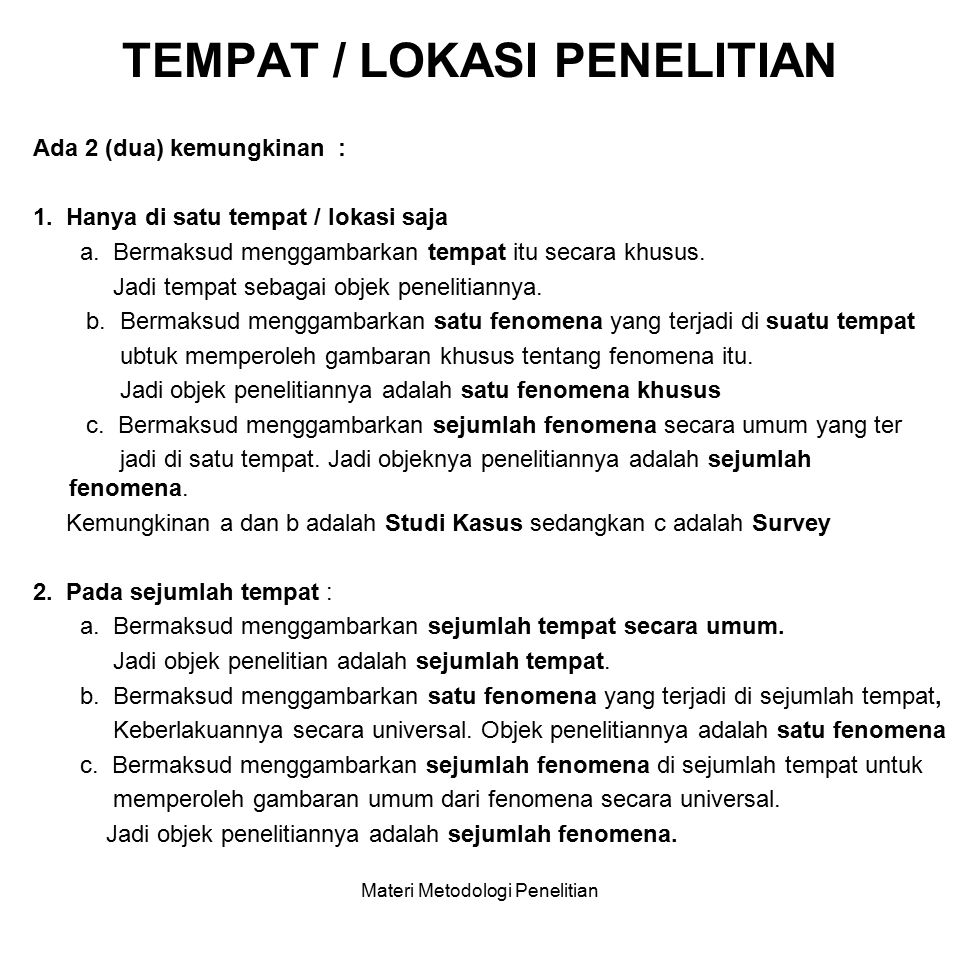 TEKNIK PENGUMPULAN DATA PENGOLAHAN- ANALISIS DATA