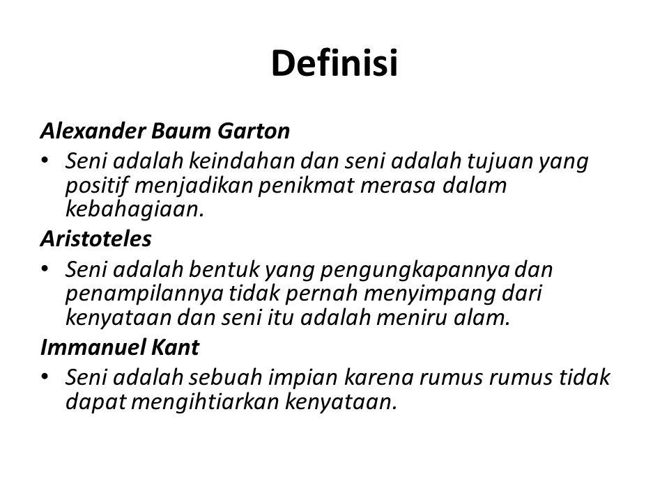 Definisi Alexander Baum Garton