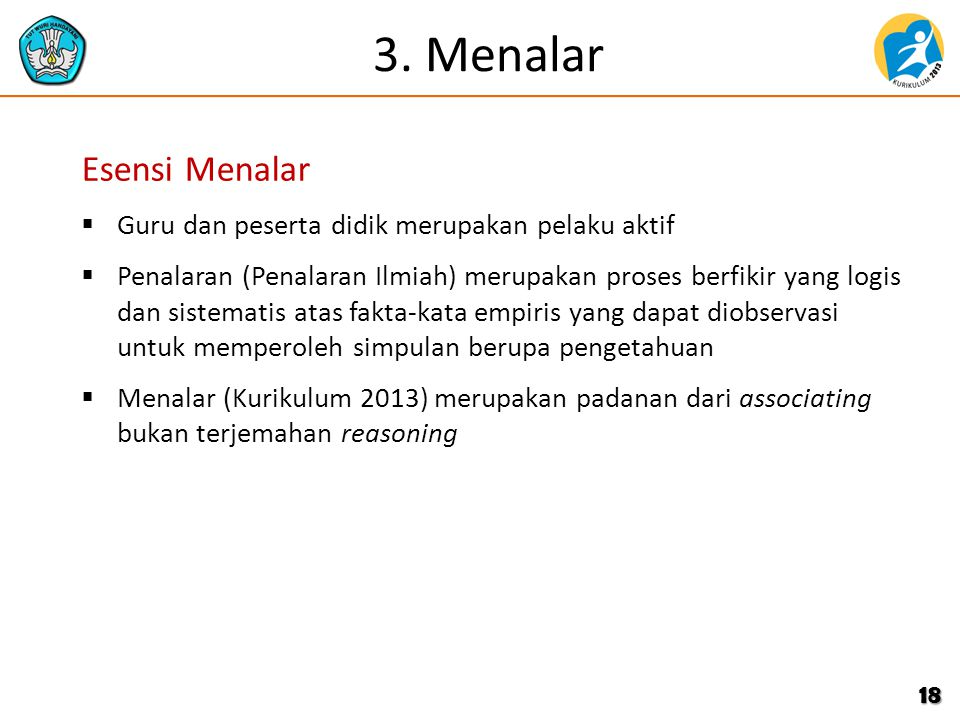 3. Menalar Esensi Menalar