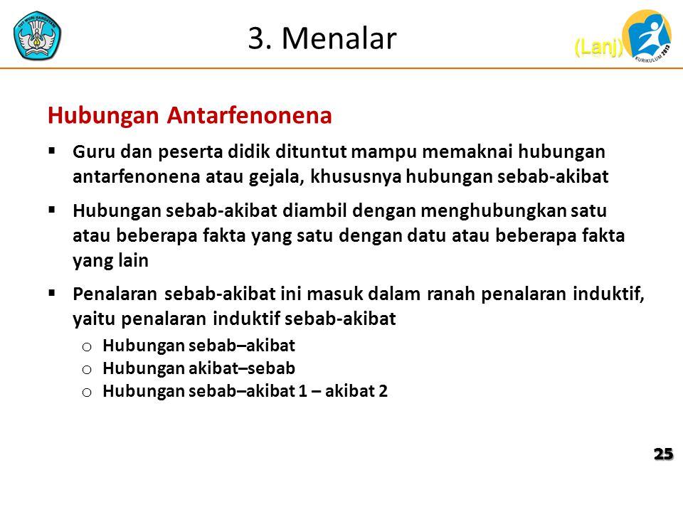 3. Menalar Hubungan Antarfenonena