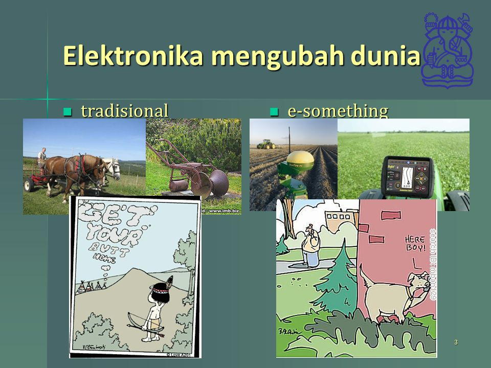 Elektronika mengubah dunia