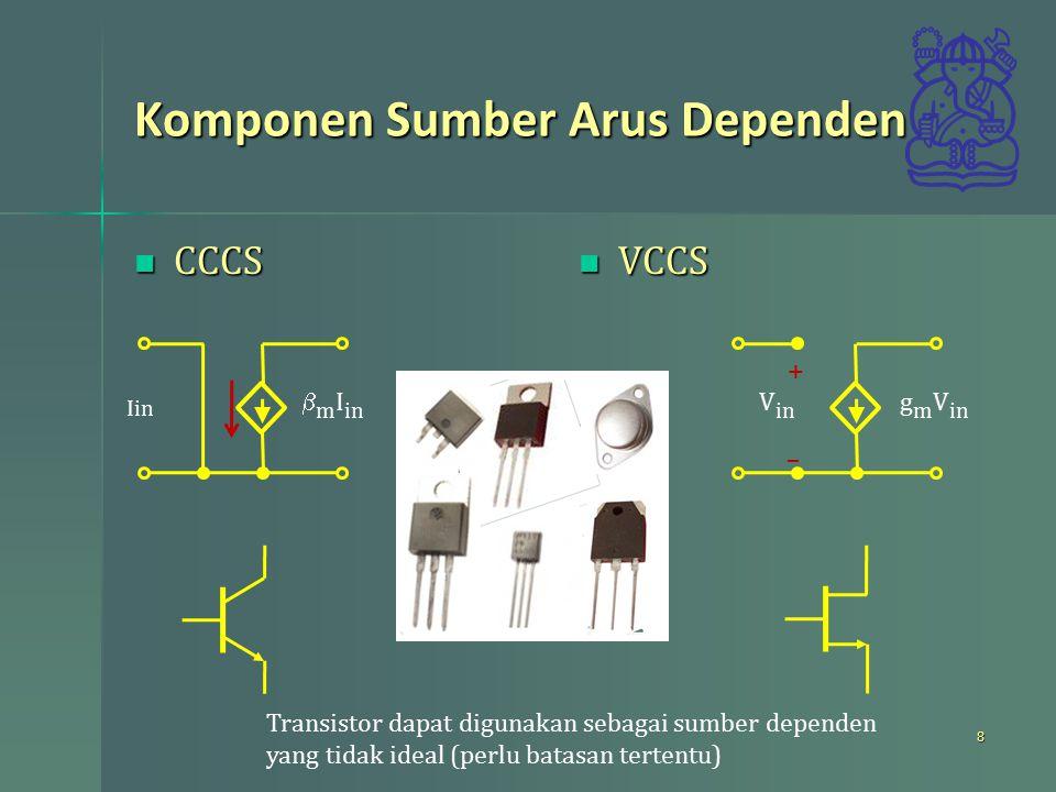Komponen Sumber Arus Dependen