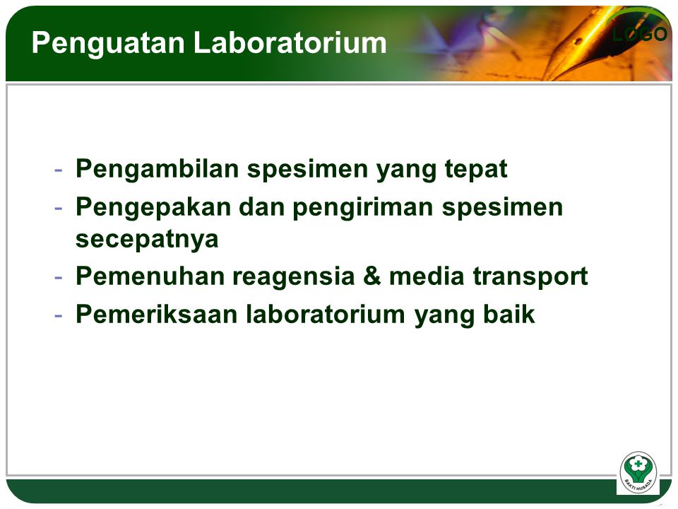 Penguatan Laboratorium