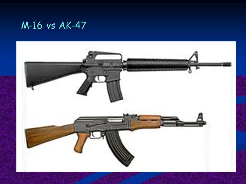 M-16 vs AK-47