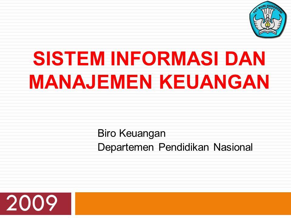 Sistem Informasi DAN Manajemen Keuangan