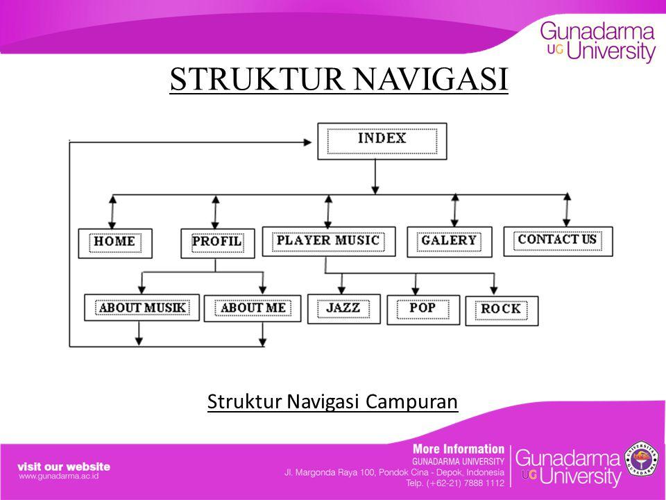 Struktur Navigasi Campuran