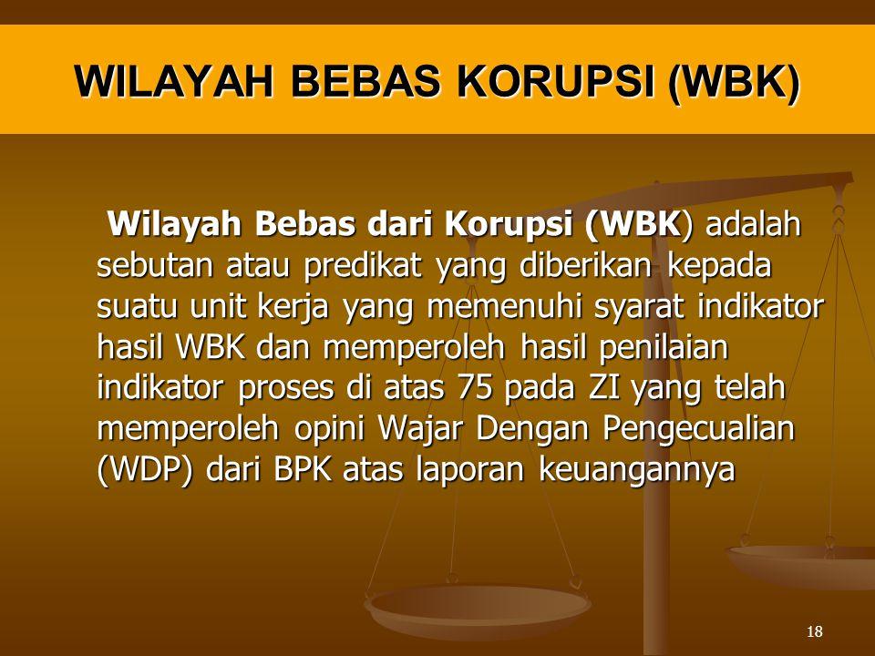 WILAYAH BEBAS KORUPSI (WBK)