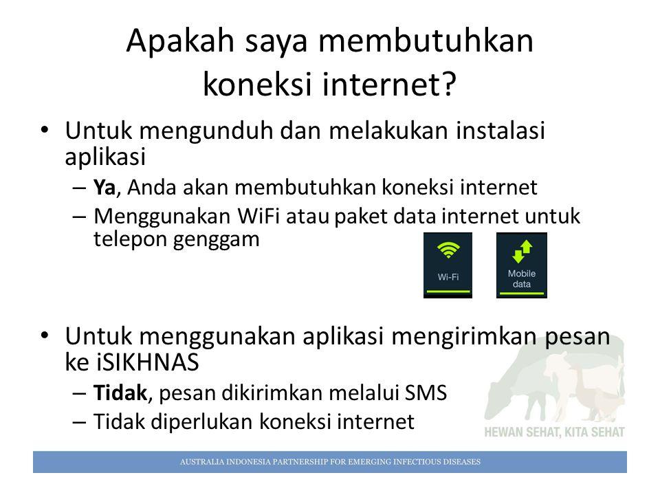Apakah saya membutuhkan koneksi internet