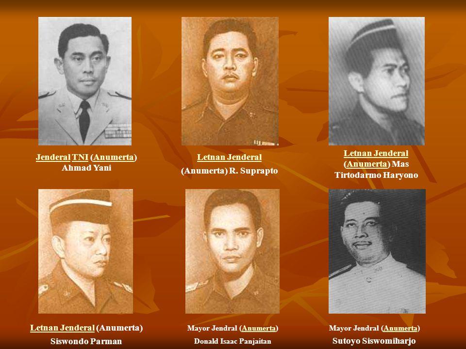 Letnan Jenderal (Anumerta) Mas Tirtodarmo Haryono