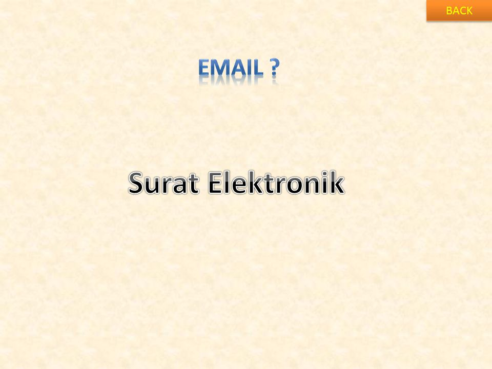 BACK Email Surat Elektronik